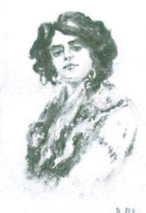 ESTUDO [CABEÇA DE MOÇA], 1910-1911